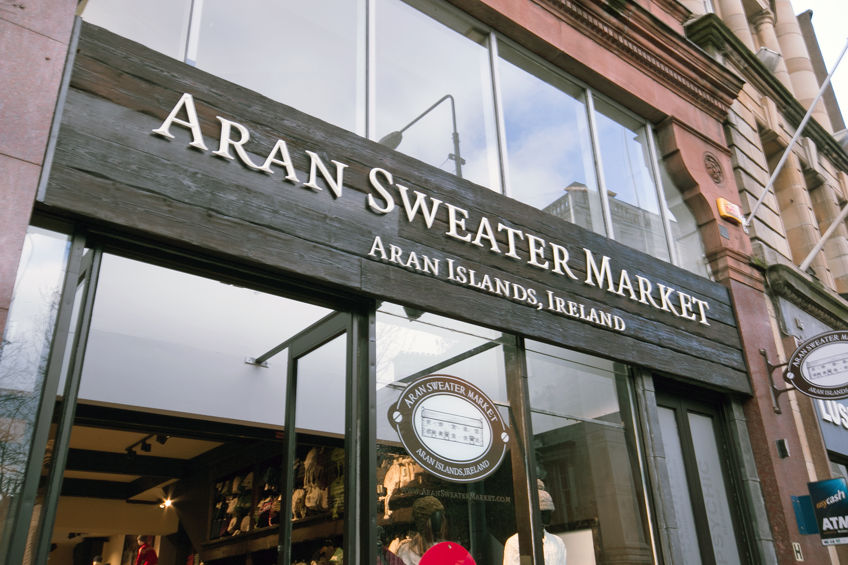 Aran Sweater Market - Grafton St