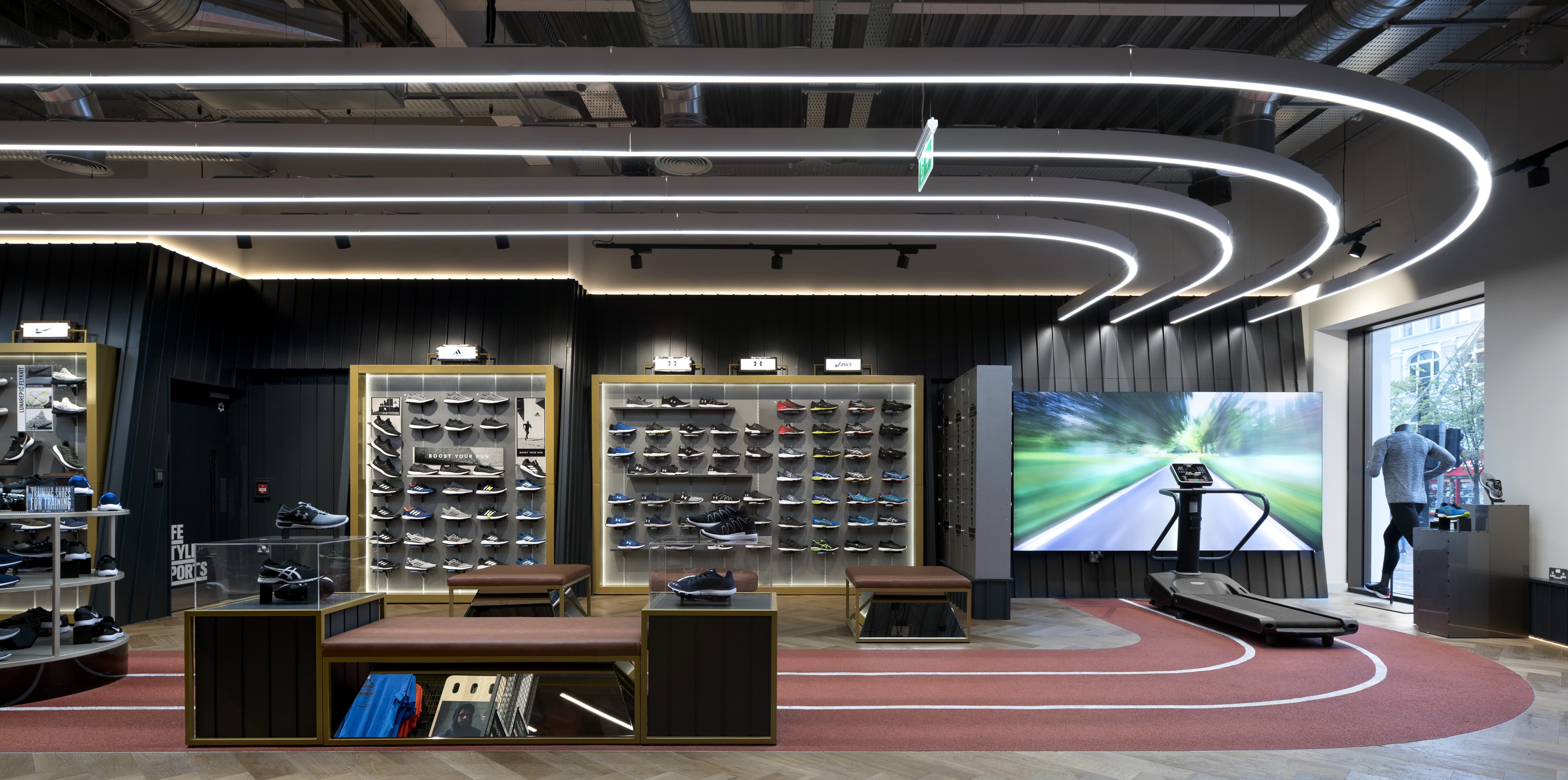 Life Style Sports Capitol Track Area