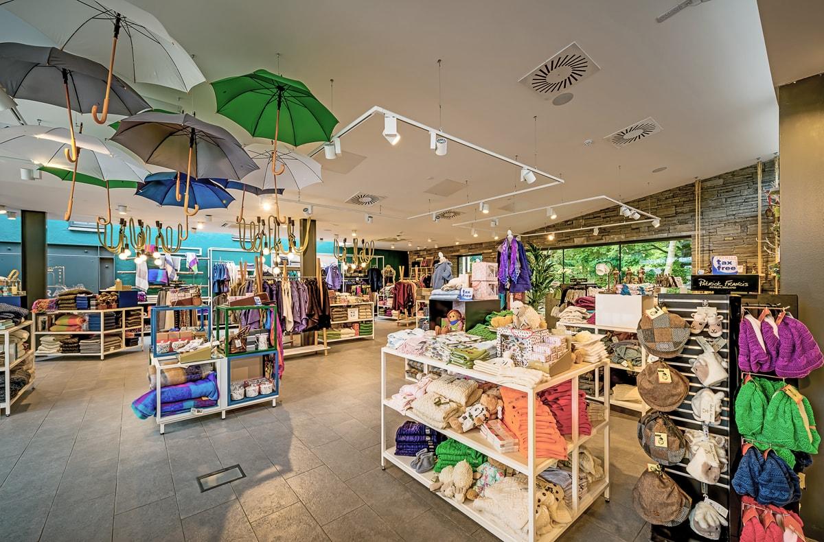 Bunratty Folk Park Store Design